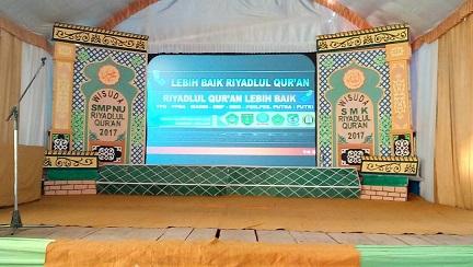 Event Pelepasan Siswa - Siswi SMP dan SMK Riyadlul Qur'an